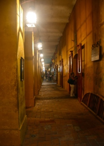 walls and lamps