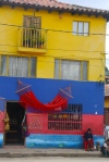 and I bet this isn't even the most patriotic house in Boyacá
