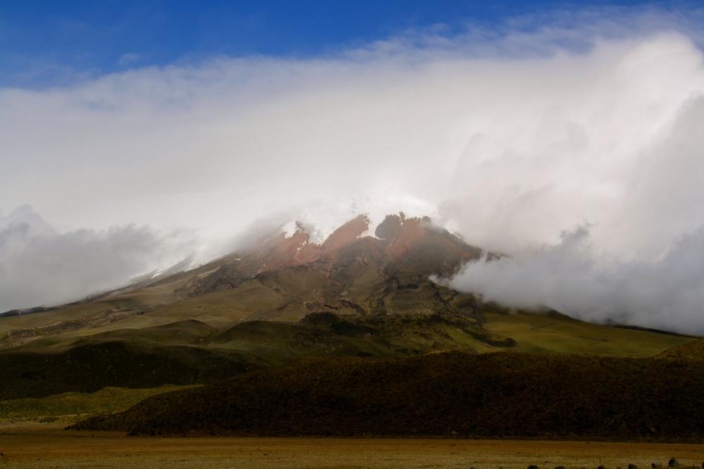 Ecuador is at least 87% volcano