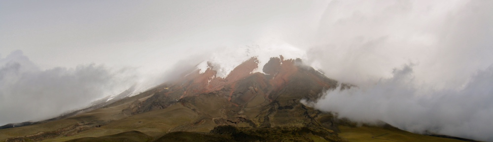 Ecuador is at least 87% volcano