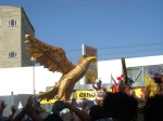 Obviously Aguila has its own float